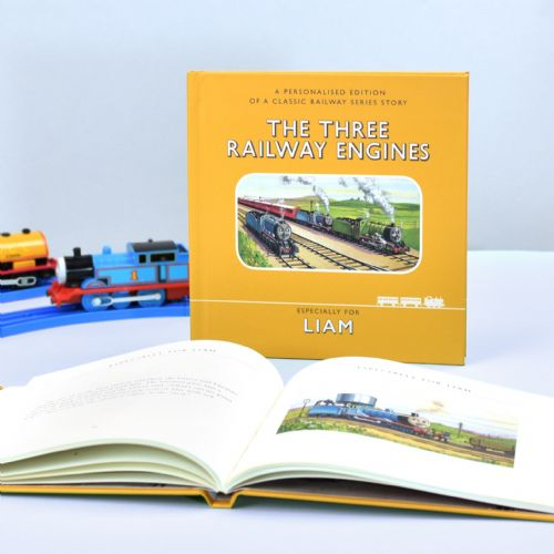 Personalised Railway Series The Three Railway Engines